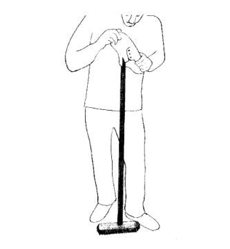 (illustration Le manche à balai - AlainMadec.com)
